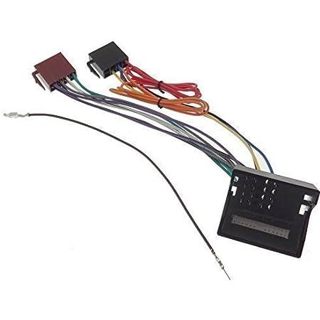 Mercedes Radio Adapter Klasse A B C Cls Clk E M Sprinter Iso Stecker Quadlock Elektronik
