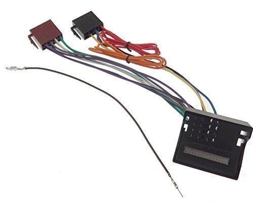 MERCEDES Radio Adapter Klasse A B C CLS CLK E M Sprinter ISO Stecker Quadlock