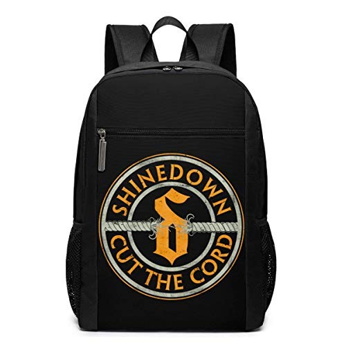 Lawenp Shinedown Backpack 17 Inch Laptop Bags College School Backpack Casual Daypack for Travel