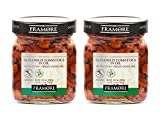 FRAMORE, Sun dried tomatoes in oil 10.2 Ounce pack of two Imported from Italy