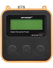 جهاز محدد إشارة التليفزيون الرقمي عالي الدقة من SATHERO SH-110HD DVB-T DVB-T2 مستقبل إشارة التلفزيون الرقمي LCD المرسل