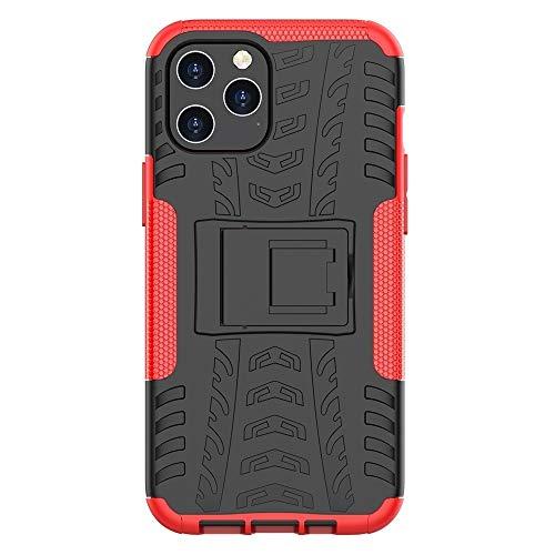 Hangma HH-Funda telefónica para iPhone 12 Pro MAX Newee Texture TPU + PC Manga Protectora para Proteger el Titular del Cassette kesishangmao (Color : Rose Red)