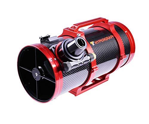TS Optics - Telescopio Newtoniano (150/420 mm, f/2,8, hiperbólico, con Tubo de Carbono y Corrector Integrado, Especialmente para fotografía Astro, Hypergraph6)
