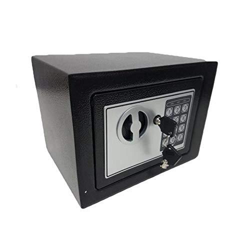 Cofre Eletrônico Digtal Teclado Senha E Chave Reseva