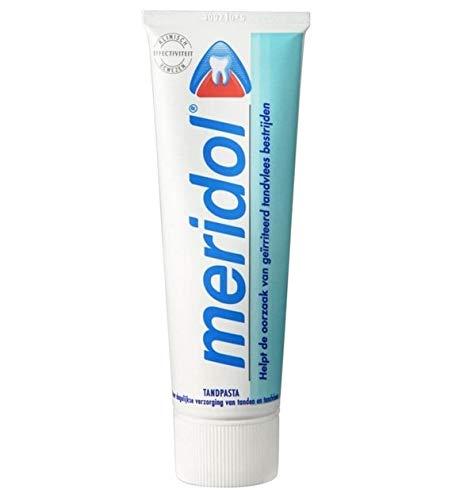 Meridol Zahnpasta für gereiztes Zahnfleisch - 3er Pack (3 x 75 ml)