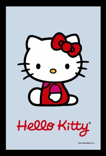 Empire Merchandising 538024 Hello Kitty - Espejo con decoración y Marco imitación Madera (20 x 30 cm)