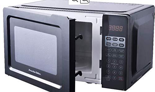 .7 cubic foot, 700 watt microwave (Black)