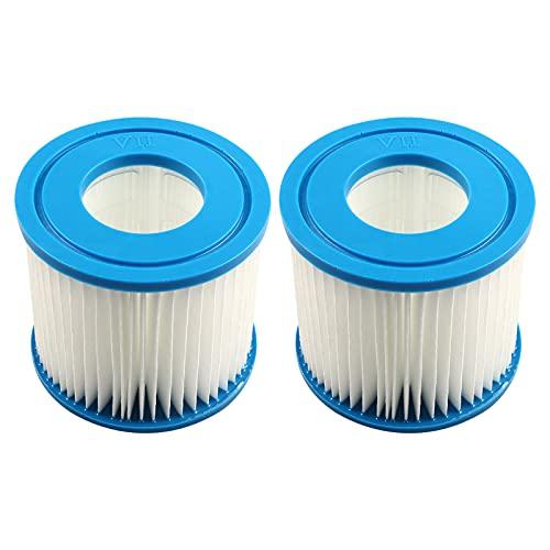 panthem Summer Pool Papie filterkartuschen Kartuschenfilter Papier Typ D & VII (2PC)