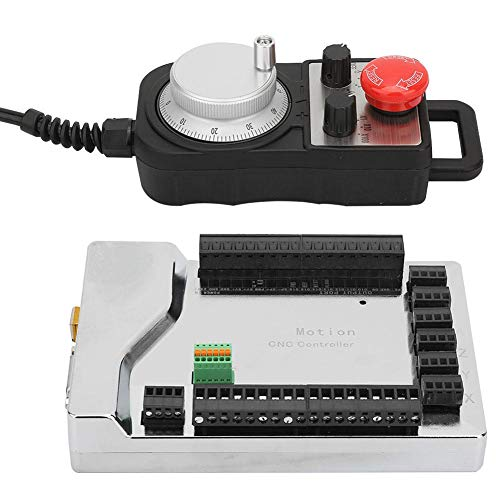 Elektrisches Handrad der USB-Steuerkarte 32 Eingangsanschluss Dual-Core-Ultrahochgeschwindigkeits-CPU für Strom CNC-Werkzeugmaschinen Steuerkreisdruckmaschinen