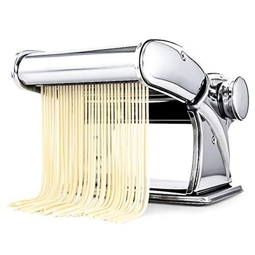 Handmatige Pasta Machines Zelfgemaakte Pasta Maker Alles in een 7 Dikte Instellingen voor Verse Fettuccine Spaghetti Lasagne Deeg Roller Druk Cutter Noodle Maken Machine voor Spaghetti en Lasagna Tagliatelle