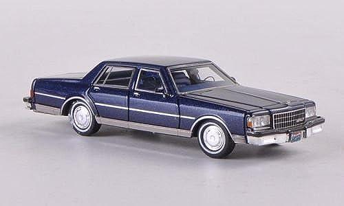 Chevrolet Caprice Classic, metallic-dunkelblau, 1986, Modellauto, Fertigmodell, Neo 1 87