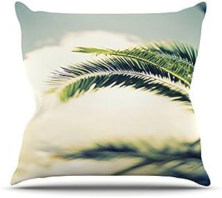"KESS InHouse AB2030AOP03 18 x 18-Inch ""Ann Barnes Summer Breeze Nature Photography"" Outdoor Throw Cushion - Multi-Colour"