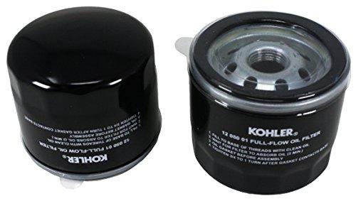 Kohler 12 050 01-S Oil Filter (Pack of 2)