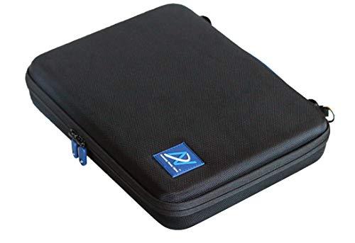 Upgrade-Tragetasche kompatibel mit Dali Katch Bluetooth-Lautsprecher (Schwarz, 1680D Nylon)