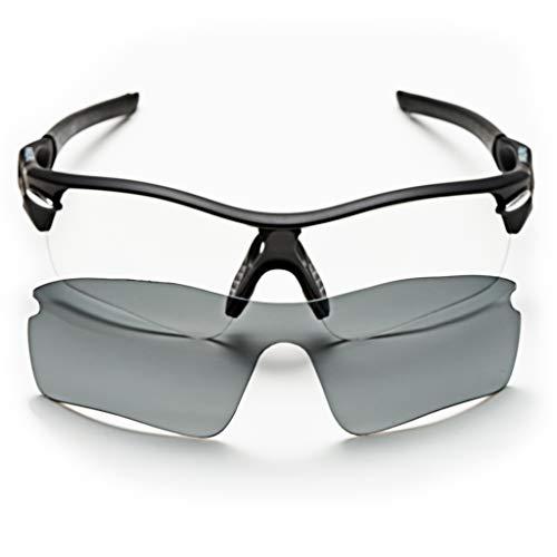 sunglasses restorer Gafas Ciclismo Fotocromaticas Modelo Angliru para Hombre y Mujer,  Extra Lente Gris Polarizada o Fotocromática