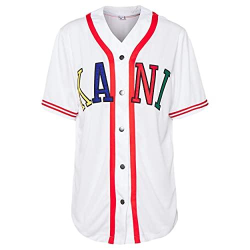 Karl Kani College Baseball Shirt Damen weiß (XS)