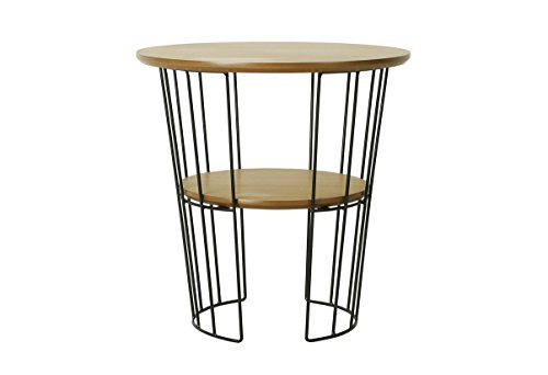 Josefine Table Basse ø50, Chêne, Beige, 50x50x50 cm
