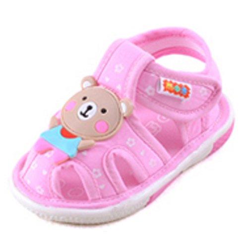 Bébé Sandales,Chaussures garçon tout-petits,doux antidérapant Bas 0-3 Ans B