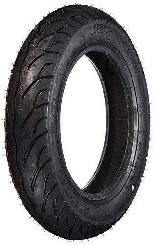 IRC MB90 TUKTUK Rubber Bike Tire Scooter for Inoue Rubber Bike Tire Scooters, Front and Rear Wheels, 90/90-10, 50J, Tubeless Type (TL) 129617 Two Wheel Motorcycle