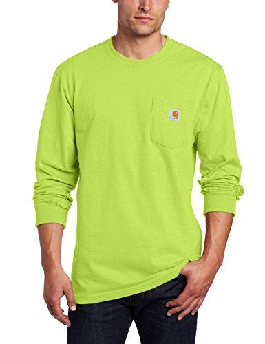 Carhartt Men's Workwear Jersey Pocket Long-Sleeve Shirt K126 (Regular and Big & Tall Sizes), Sour...