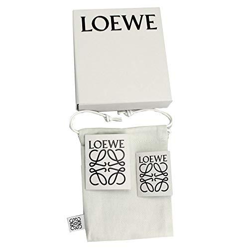 LOEWE(ロエベ)二つ折り札入れ財布メンズアナグラムロゴスムースカーフレザーインディゴブルー106.54A302[並行輸入品]