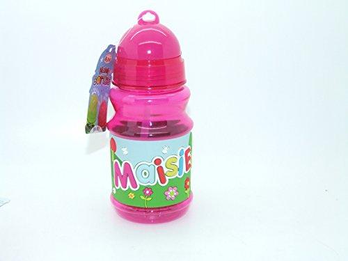 MAISIE - Botella con tapa y tapa de cierre de bisfenol A, ideal para bolsas de almuerzo de 16 cm de altura, por favor ten en cuenta que los nombres de las botellas no se pueden cambiar el nombre que recibirás está en el título
