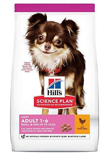 Hills Science Plan Canine Adult Light Small & Mini Pollo 1.5Kg 1500 g