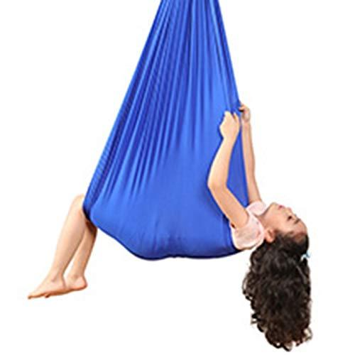 LBBL Hamaca de yoga para niños, para terapia de autismo, para terapia sensorial para niños, paquete elástico para asiento estable, hamaca para niños (color : H, tamaño: 2,8 x 1 m)