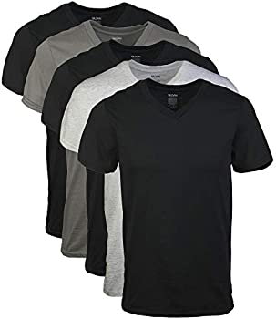 5-Pack Gildan Men's Assorted V-Neck T-Shirts