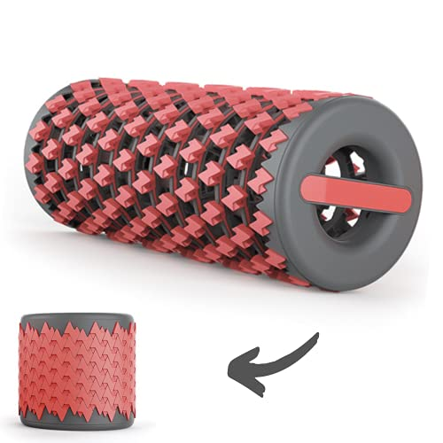 ARCO Foam Roller, Collapsible for Exercise, Expandable Firm Massage Roller for Soft Deep Tissue, Designed for Travel and Recovery, Yoga, Pilates and Back exercise, Physical Therapy and Trigger Point Release by ARCO