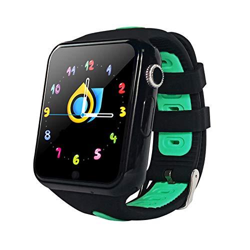 ZZKK GPS-polshorloge voor kinderen in vijf posities met een SOS-knop, waterdicht, intelligent GPS-horloge voor kinderen