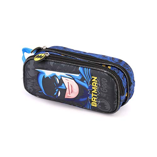 Karactermania Batman Knight-3D Doppelfedermäppchen Astuccio, 22 cm, Multicolore (Multicolour)