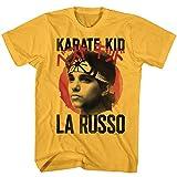 American Classics Karate Kid 1980er Martial Arts Movie Circlin La Russo Profile T-Shirt - Orange - X-Groß