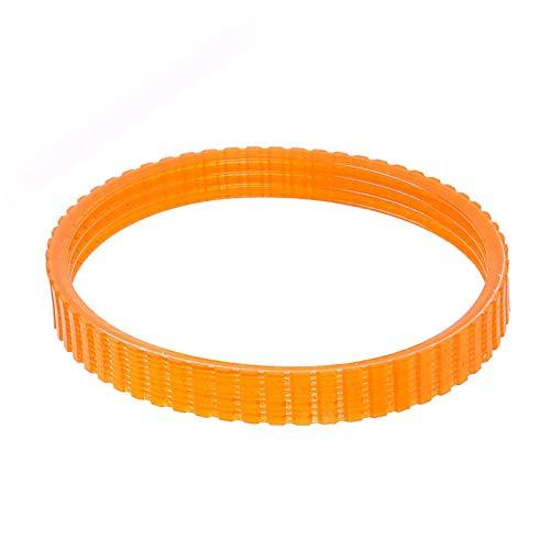 1900B - Cinghia di ricambio per piallatrice elettrica, 9,6 mm di larghezza, arancione, confezione da 2