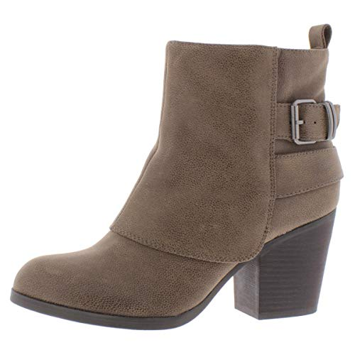 American Rag Womens Lilah Almond Toe Ankle Fashion Boots, Taupe Pu, Size...