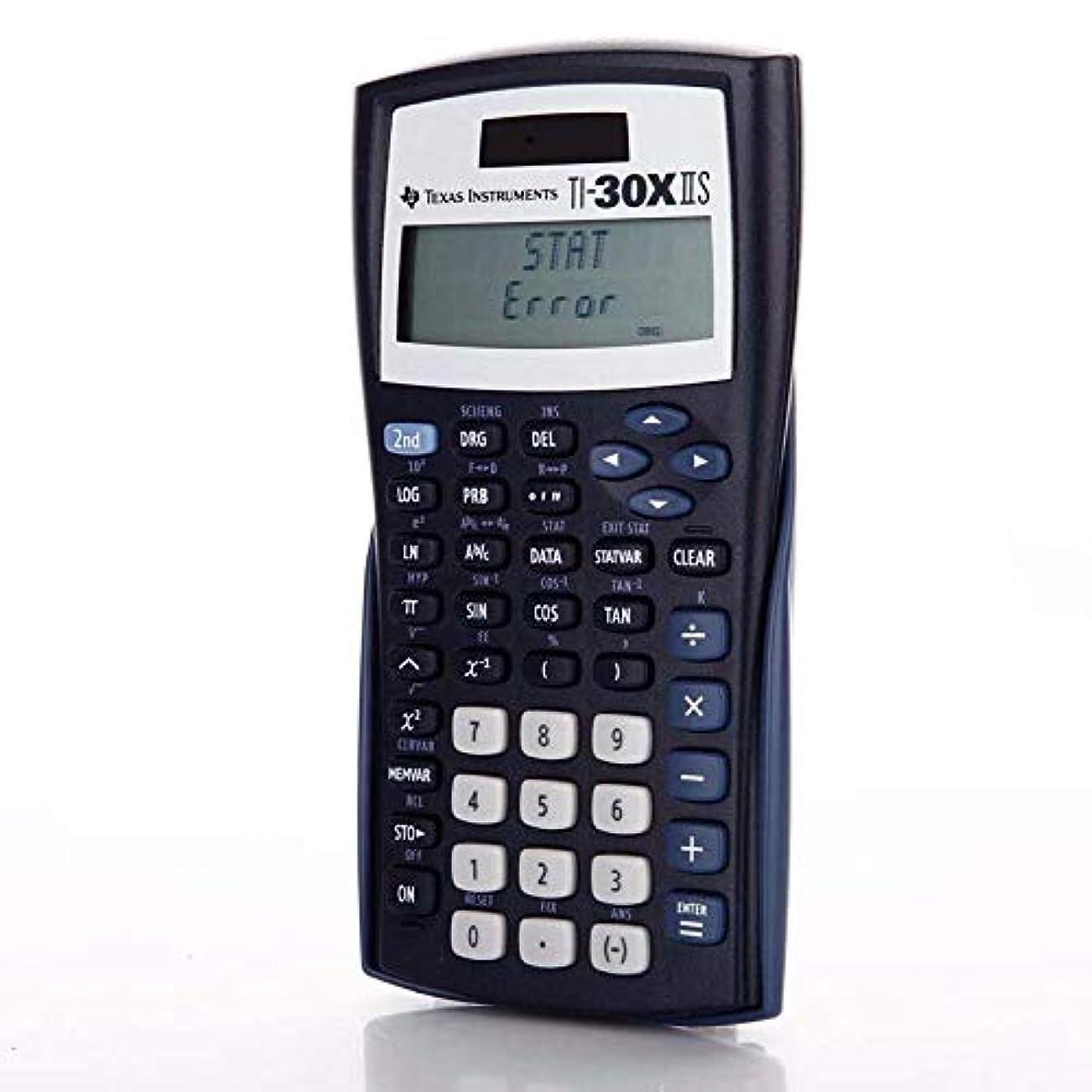 上向き窓を洗う伝説Rziioo 2ライン関数電卓 学生科学機能電卓 ブラック (30XIIS/TBL/1L1/BA)