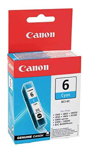 Original Canon 4706A002 / BCI-6C Tinte Cyan für Canon Pixma IP 4000