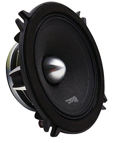 DS18 PRO-FR5NEO Loudspeaker- 5.25 , Full-Range, Silver Aluminum Bullet, 400W Max, 200W RMS, 4 Ohms, Neodymium Magnet - The Most Elegant Neodymium Full Range Loudspeakers Available