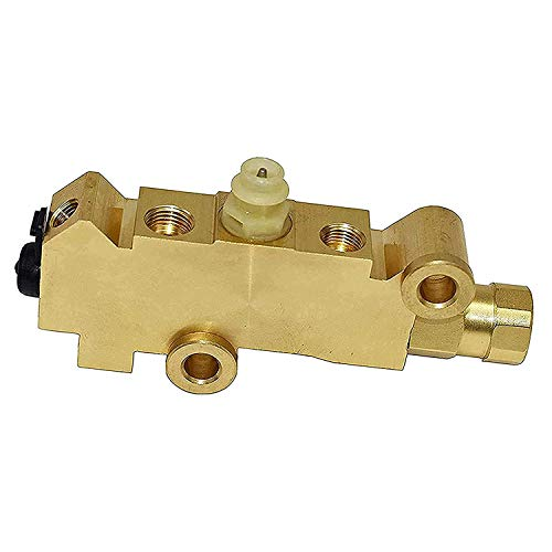 A-Team Performance Combination-Proportioning Valve, PV2 172-1353 PV71 Disc Drum Brakes, Front Drum Rear Brake Brass, Compatible with GM Street Rod Classic Car Truck