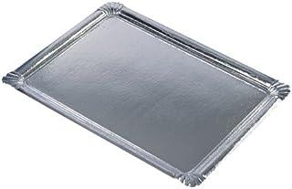 PAPSTAR 11331 10 Servierplatten PE-beschichtet eckig, 34 x 4