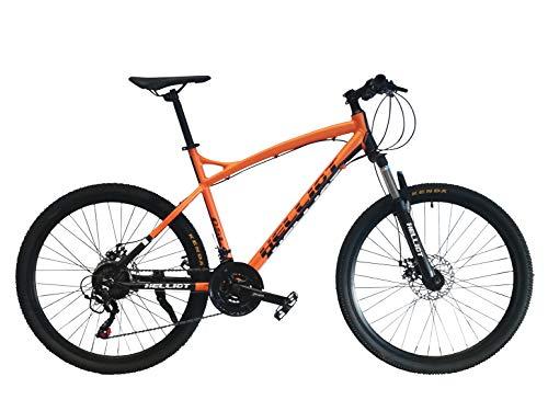 Helliot Bikes Oslo Pro 02 Bicicleta De Montaña, Naranja, M-L