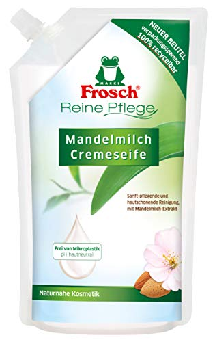 Frosch Handseife Mandelmilch Nachfüll, 6er Pack (6 x 500 ml)