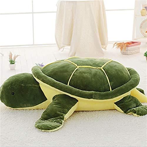 Kpcxdp La Tortuga Tortuga de Ojos Grandes Creativo Nuevo Suave de algodón Tortuga de la Suerte Tortuga Grande muñeca de Peluche de Juguete 23CM A
