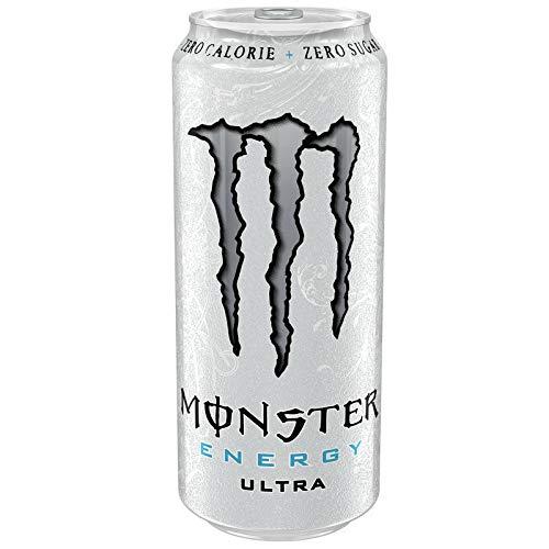 24 x Monster Energy Ultra White EINWEG (24 x 0,5L Dosen) & gratis FiveStar Kugelschreiber (Europa)