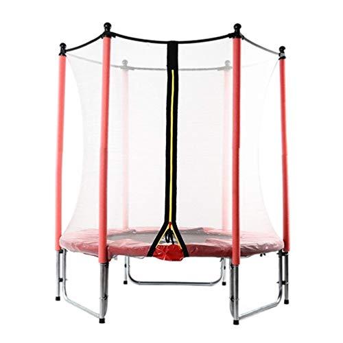 Wtbew-U Trampoline Peuter Verhoogde Guardrail Peuter Trampoline, Met Beschermende Omheining Indoor Jumping Kinderen Bouncing Bed Buiten Tuin Volwassen Afslanken