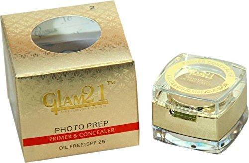 Glam 21 Primer and Concealer 2 in 1 Makeup Base Primer (Natural)