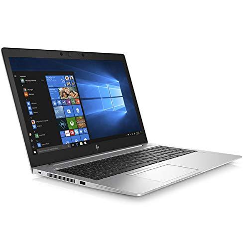 HP EliteBook 850 G6 Notebook, Silver, Intel Core i5-8265U, 8GB RAM, 256GB SSD, 15.6' 1920x1080 FHD, HP 3 YR WTY + EuroPC Warranty Assist, (Renewed)