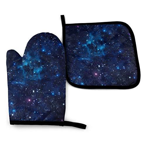 Royal Legacy Starry Sky Open Sky - Mitones y Porta ollas para...