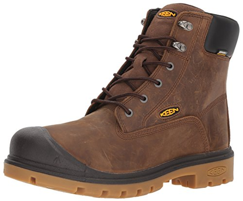 KEEN Utility Men's Baltimore 6' Soft Toe Waterproof Work Boot