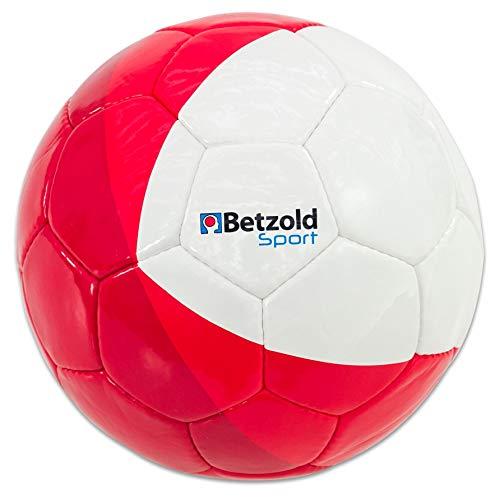 Betzold Sport Fußball, Größe 5, Trainingsball, Umfang 68 - 70 cm, Gewicht 410 - 450 g, Fußballtraining, Schulfußball, Trainingsball